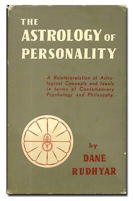 Astrología de la personalidad The astrology of personality Dane Rudhyar